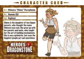 CHIMERA PERSEPHONIE - HEROES OF DRAGONSTONE by janieanngg