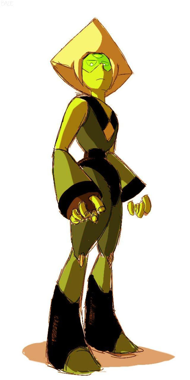 I love her so much. So very much. I'm going to draw the Crystal gems next. This was just a practice for Peridot. I will make a more refined version when I'm not lazy.