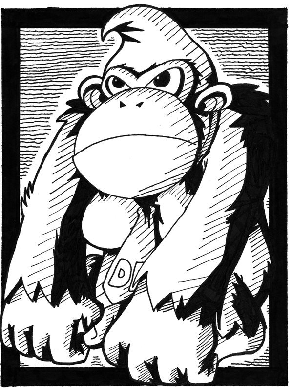 donkey kong sketch 2018 images pictures gallery donkey kong sketch