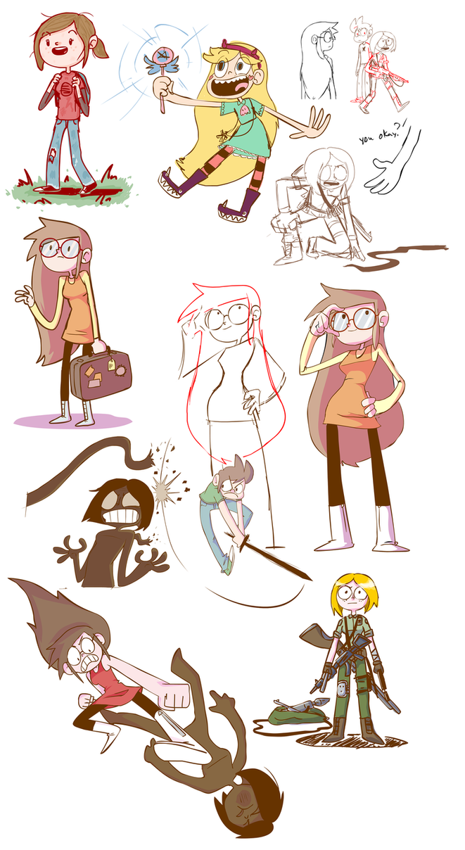 Tumblr Dailies Dump by nasakii