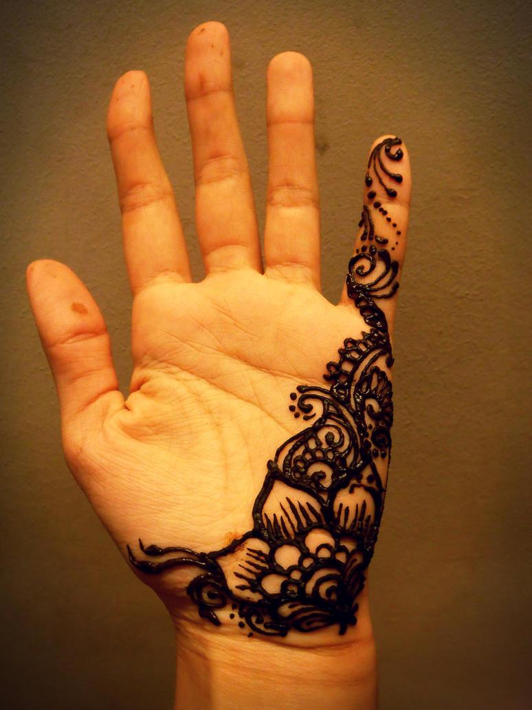 Mehndi For Palm : Palm henna by fibergraphite on deviantart