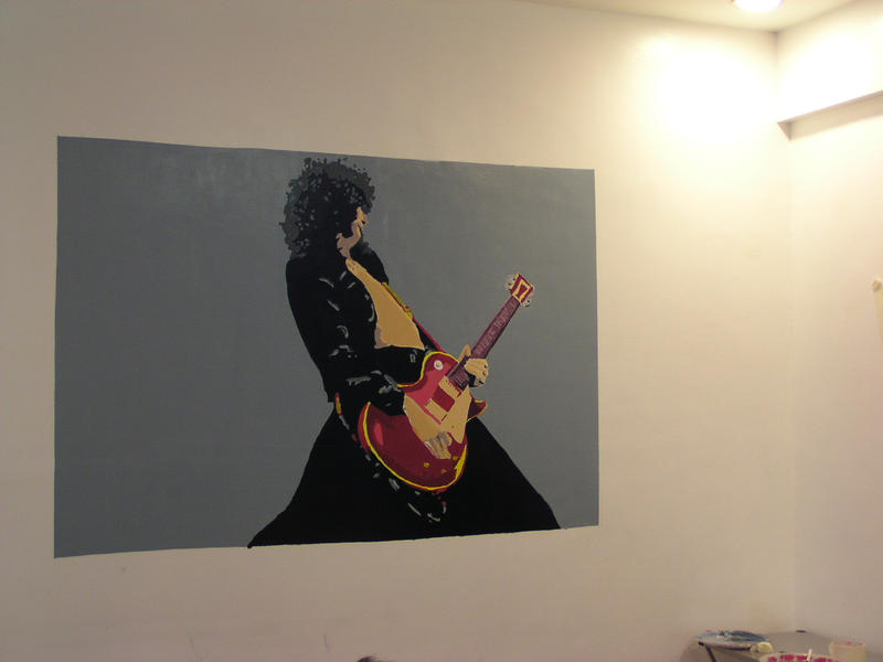 Painting of Jimmy Page by zosodude
