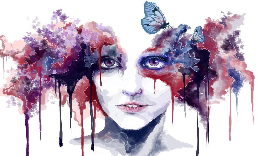Lilacs by AbigailxElizabeth