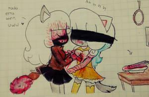 hehe uwu by cute-gumi-bear