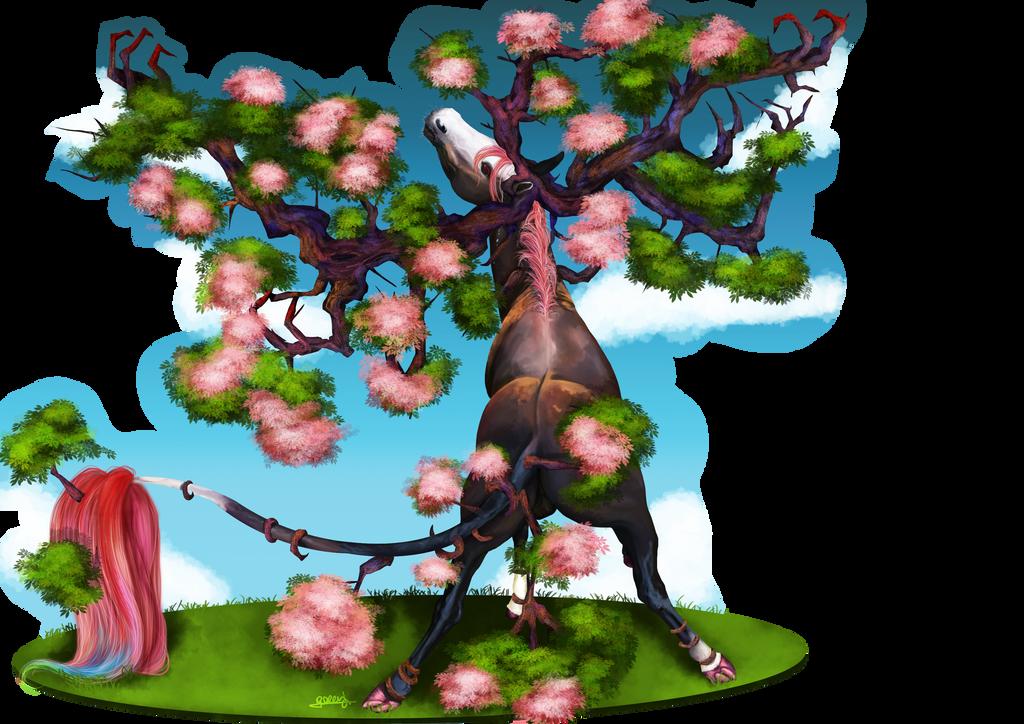 Licornarbre by Akuma-draw