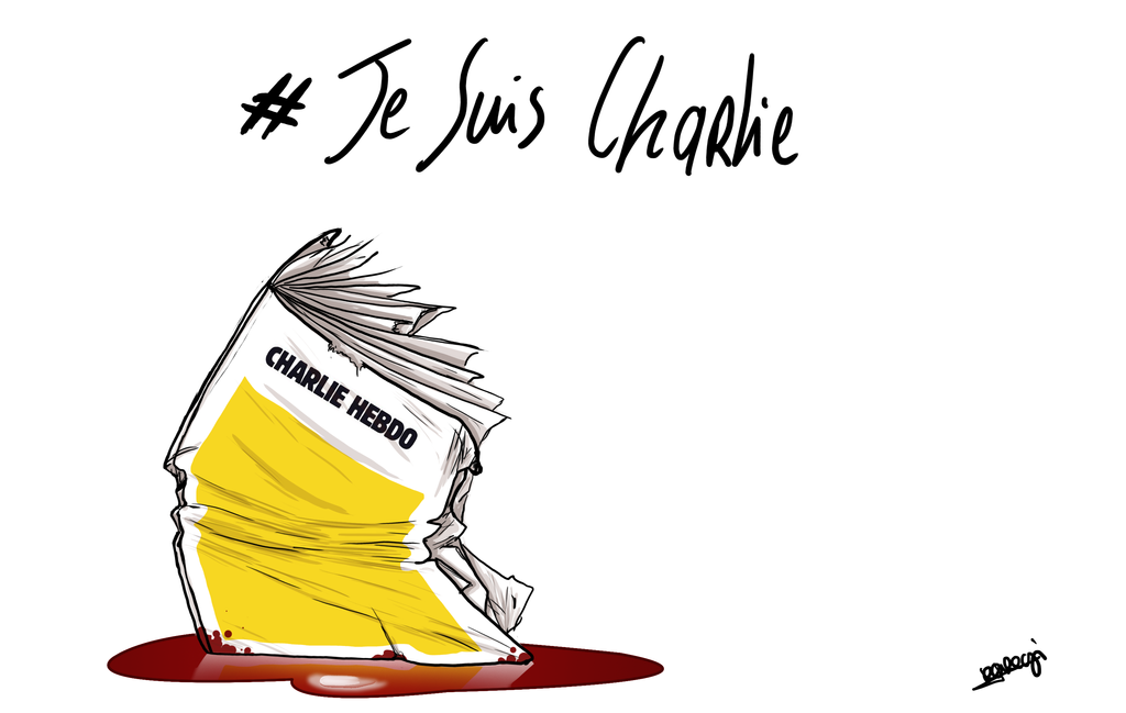 #JeSuisCharlie by Akuma-draw