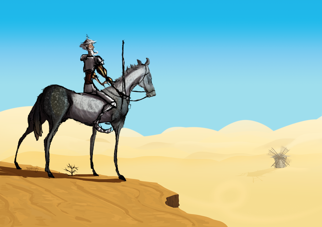 don Quichotte by Akuma-draw