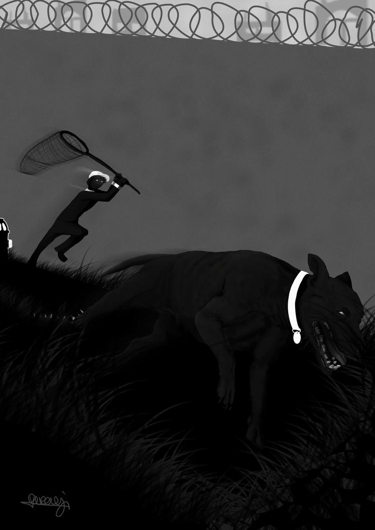 Dog Run Escape by Akuma-draw