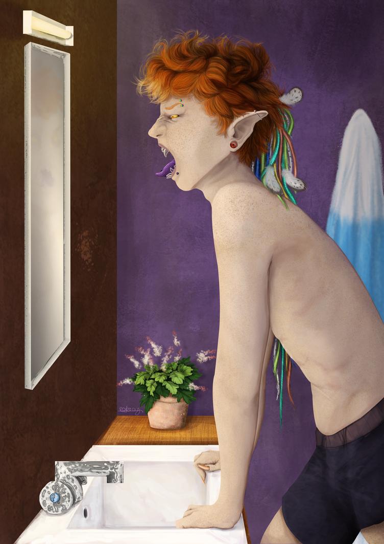 Portraitrandom by Akuma-draw
