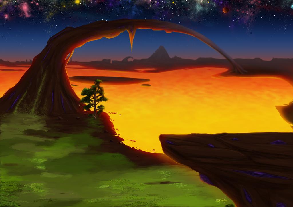 Hell by Akuma-draw