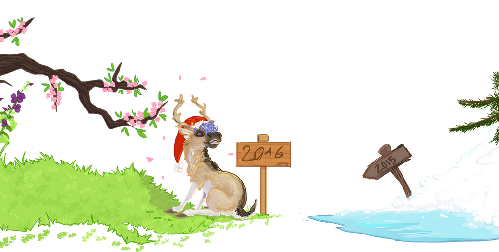 Happy New Year ! by Akuma-draw