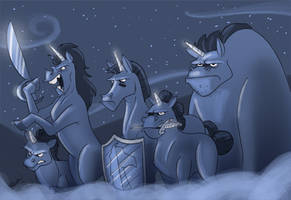 Unicorn Attack by Hesstoons