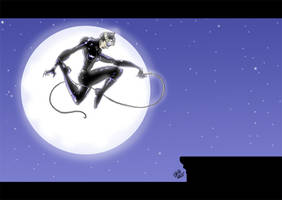 Catwoman by Hesstoons