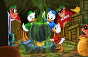 Ducktales tribute by Hesstoons