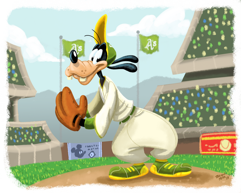 A Goofy pitcher by Hesstoons