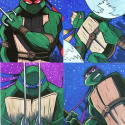 Teenage Mutant Ninja Turtles Commissions