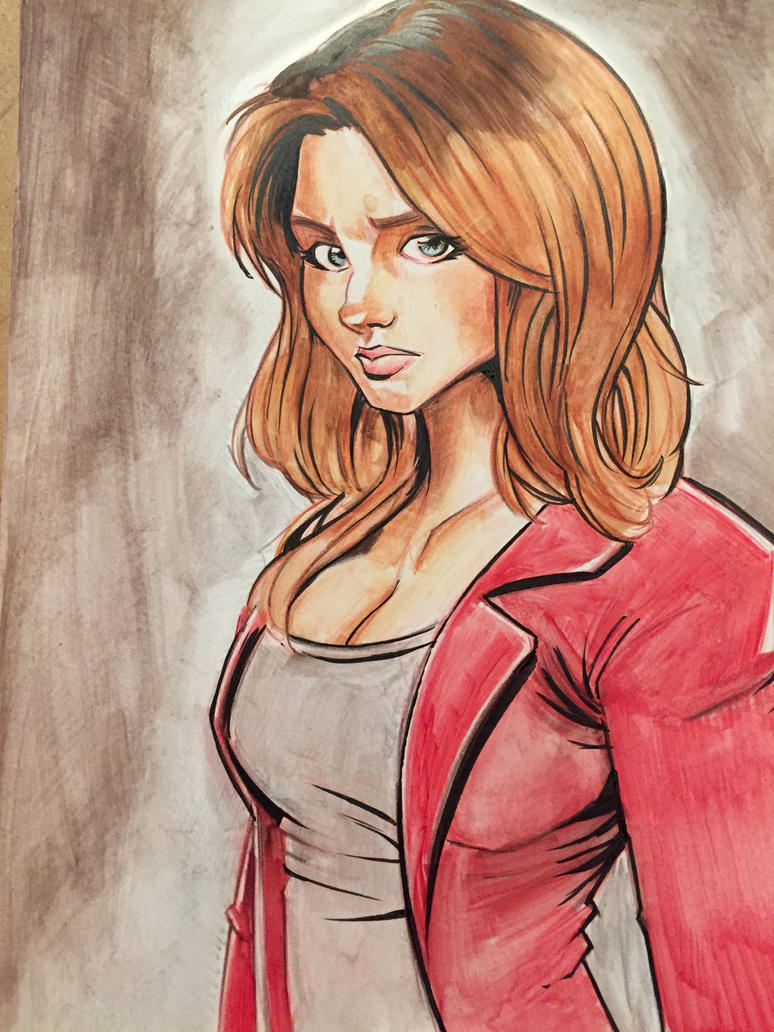 Buffy Commission by Hesstoons