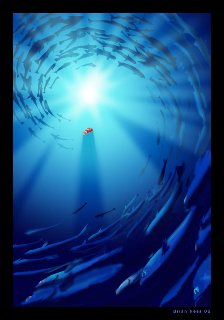 Finding nemo poster by hesstoons on deviantart finding nemo poster by hesstoons altavistaventures Image collections