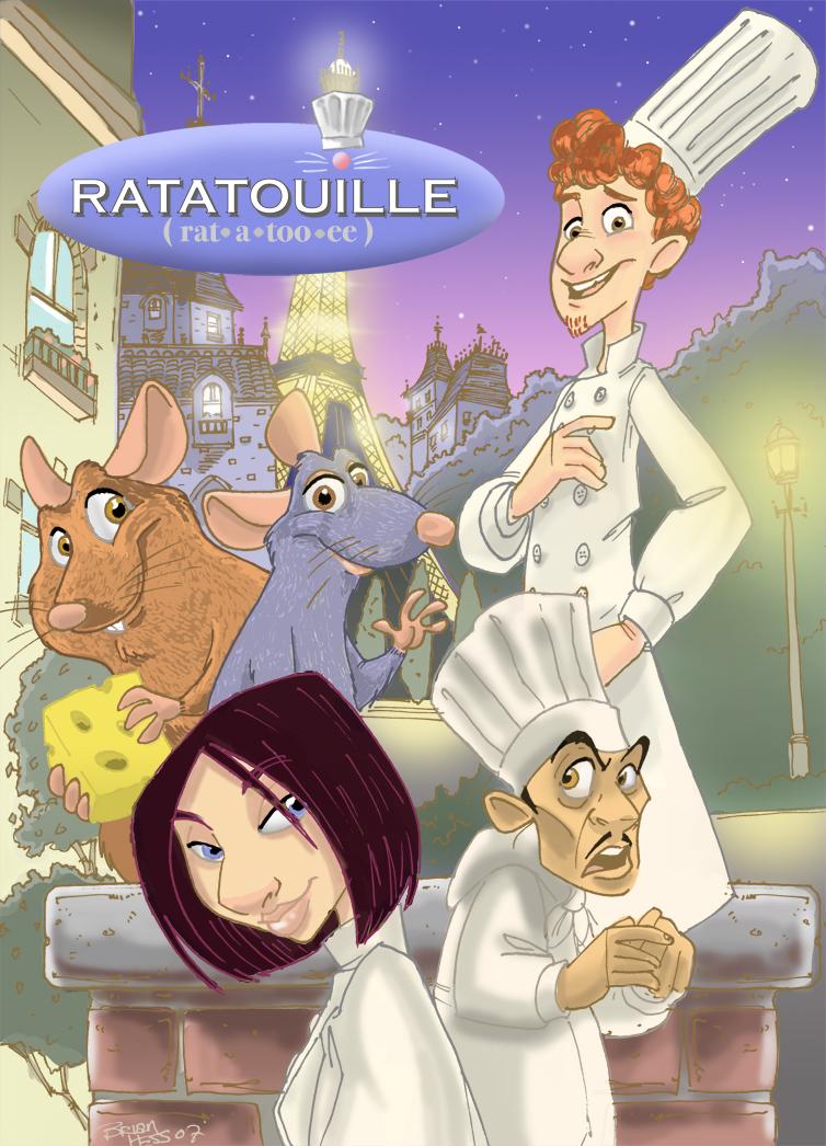 Ratatouille Moc Poster By Hesstoons On Deviantart