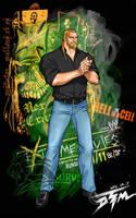 WWE superstar Triple H by DTM2009