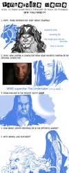 Fanservice Meme (model:Undertaker) by DTM2009