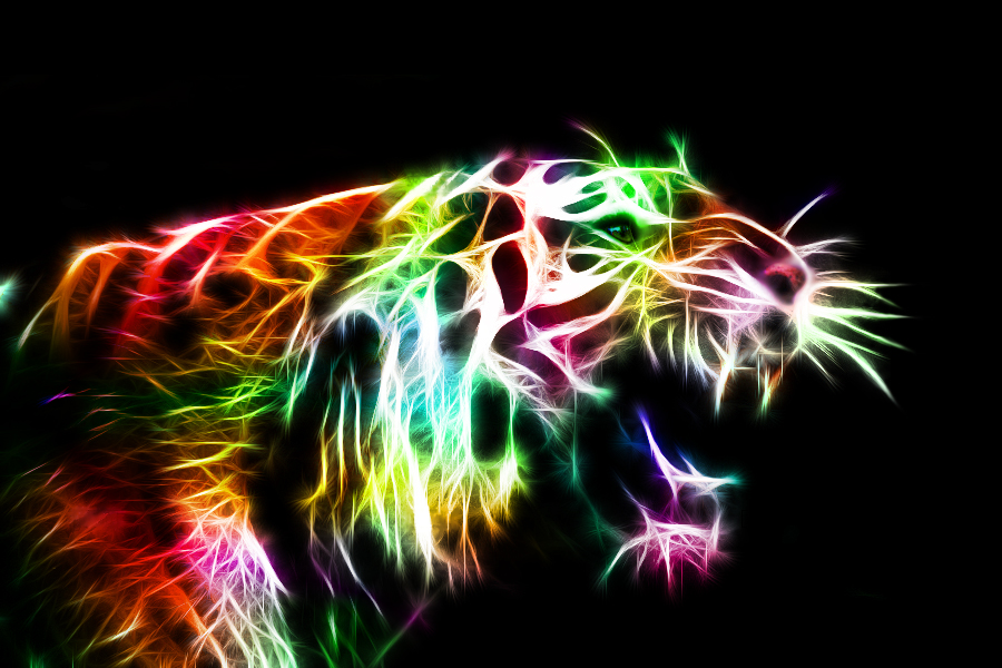 Angry Kitty Fractal By Minimoo64 On Deviantart