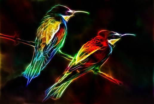 Fractalius Birds