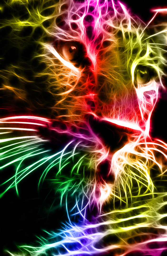 Fractalius Leopard by MiniMoo64