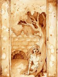 Auri in the courtyard by autumnprincess