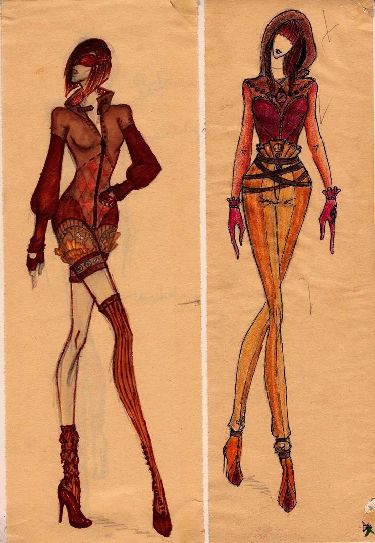 Steampunk Fashion Steampunk Fashion Sketch 2 by