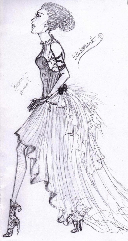 Steampunk Fashion Steampunk Fashion Sketch 3 by