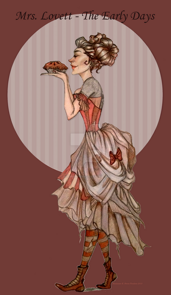 Mrs. Lovett by autumnprincess