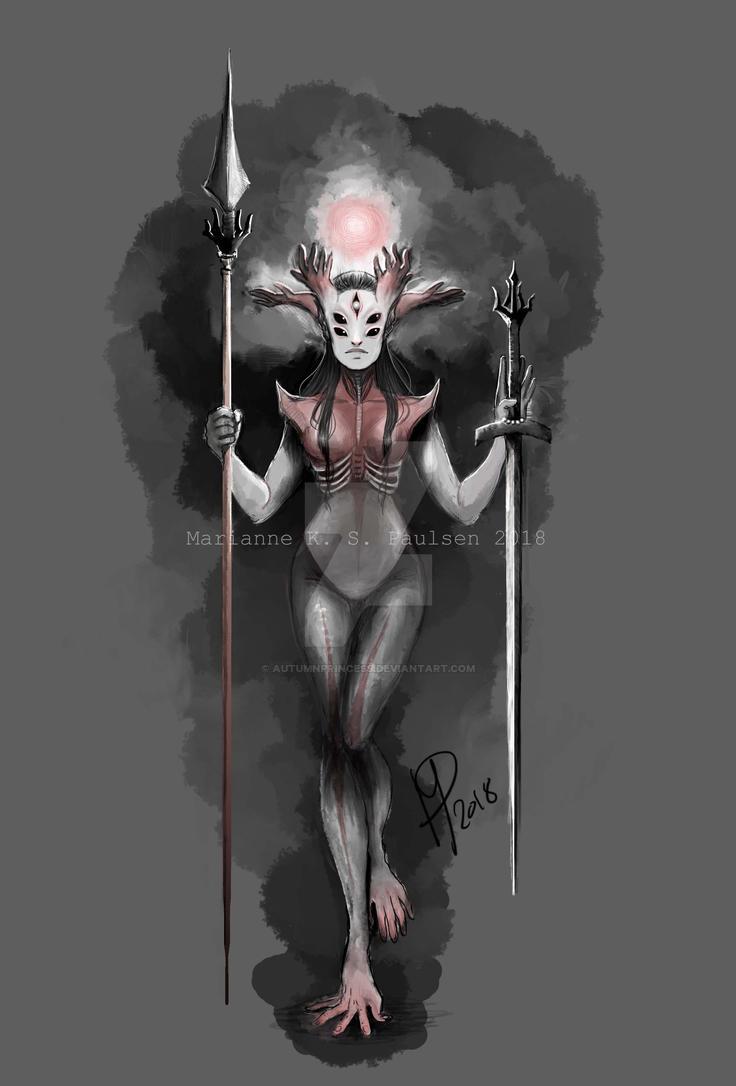 Demoness Creature by autumnprincess