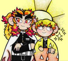 Rengoki-aniki + Golden Boy.