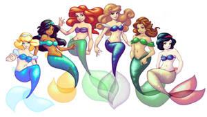 Disney Mermaids Take III