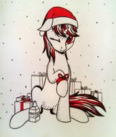 [Sketch] Christmas blackjack by AdagioString