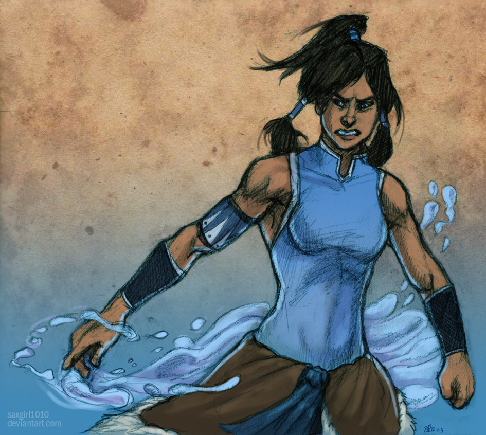 The Legend of Korra by lycanthropeful