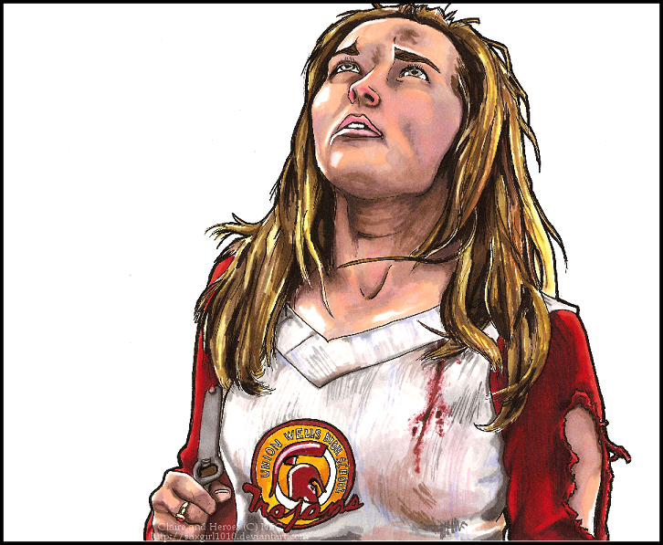 Claire Bennet by lycanthropeful