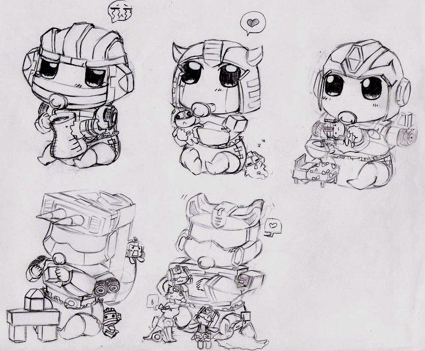 Transfomers Baby 3 by Kakuyami