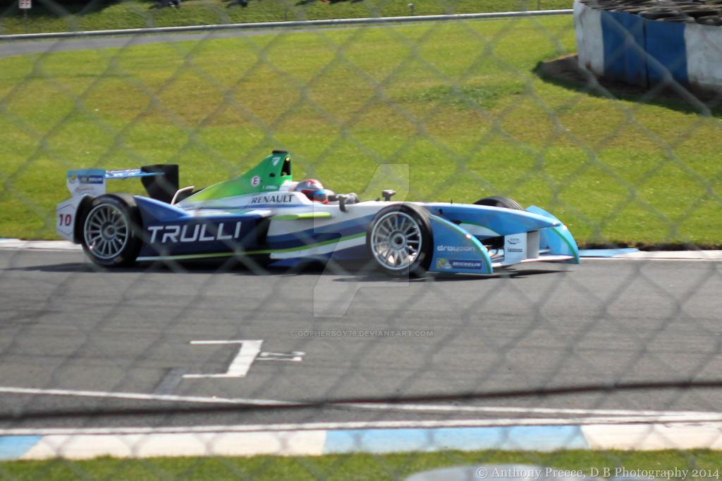 Formula E - Jarno Trulli by gopherboy76