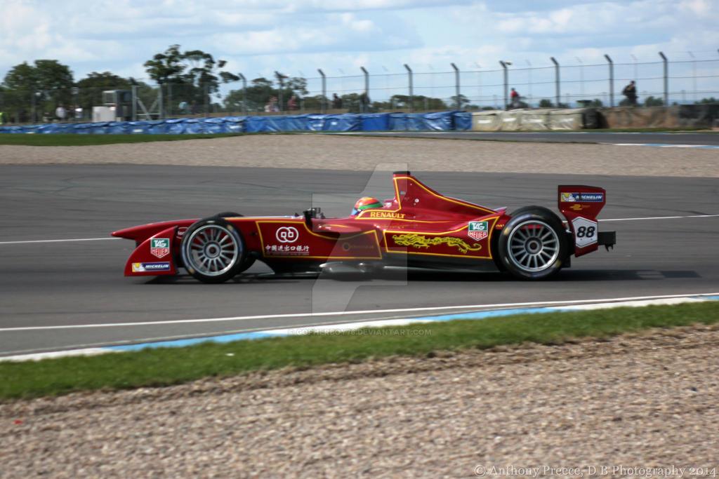 Formula E - China Racing Car by gopherboy76