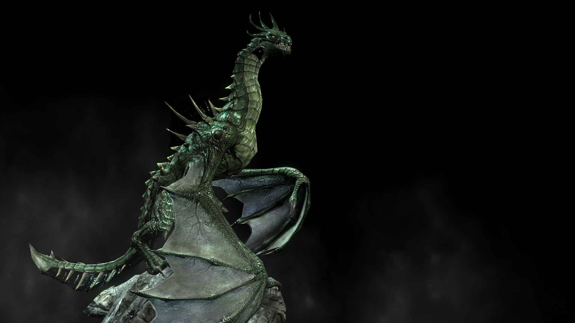 skyrim how to get a dragon