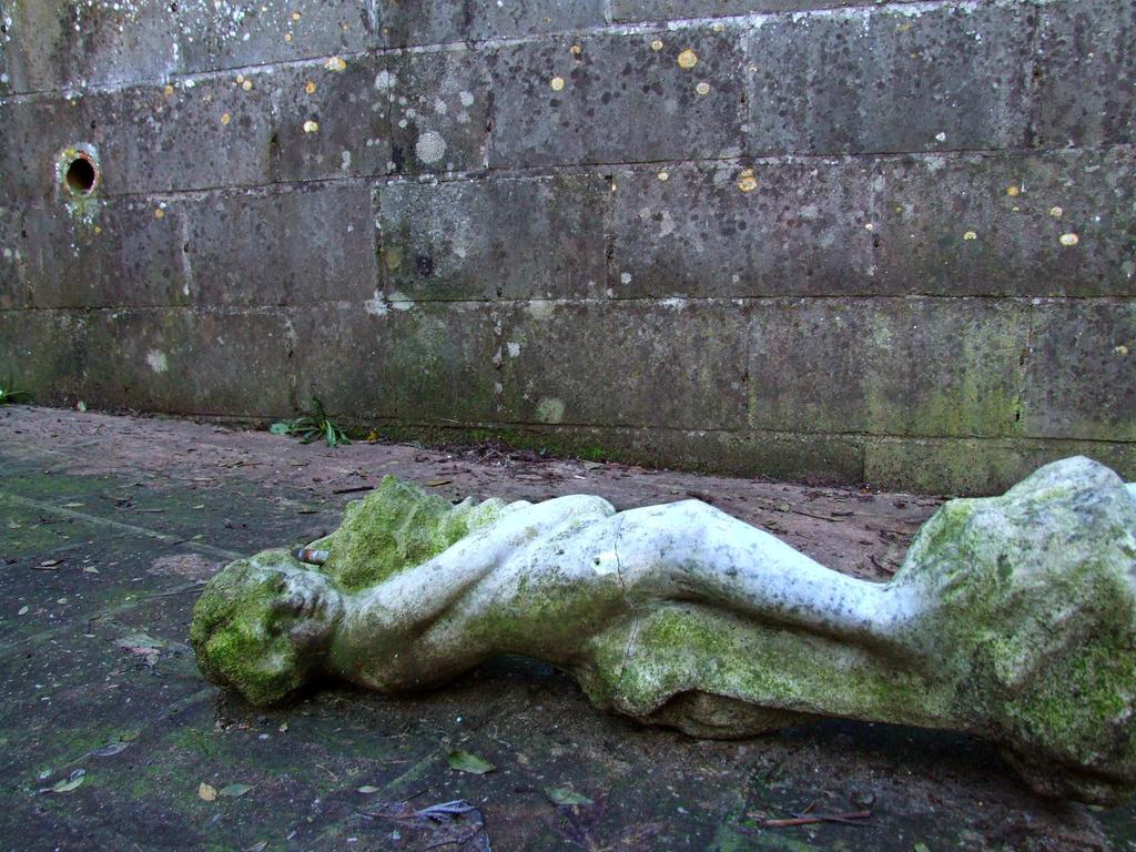 Fallen Statue by LaurenceCrist