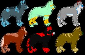 Group Adoptables 9: OPEN by kaleidoscopial