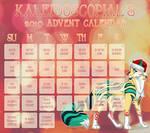 2019 Advent: OPEN by kaleidoscopial