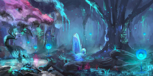 Magical Forest by Ninovation