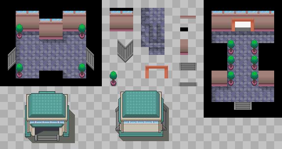 Platinum Gatehouse Tiles by PeekyChew
