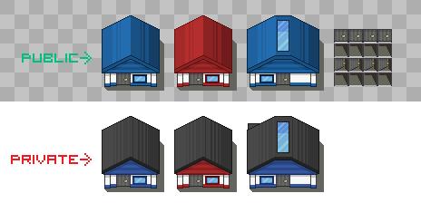 Custom House Tiles by PeekyChew