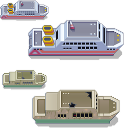 S.S Tidal + Abandoned Ship Remakes