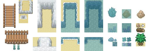 Beach and Sea Tiles